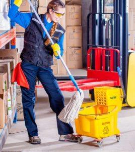 Servizio di pronto intervento per pulizie industriali e civili